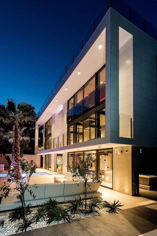 Proyecto de obra nueva de vivienda unifamiliar en la plana de sitges, barcelona.
