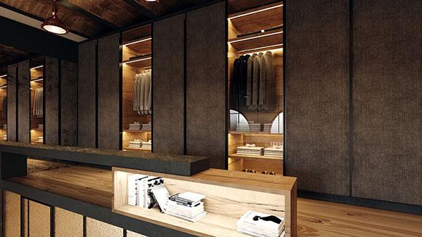 Proyecto de arquitectura e interiorismo de un loft de estilo industrial, en Barcelona.
