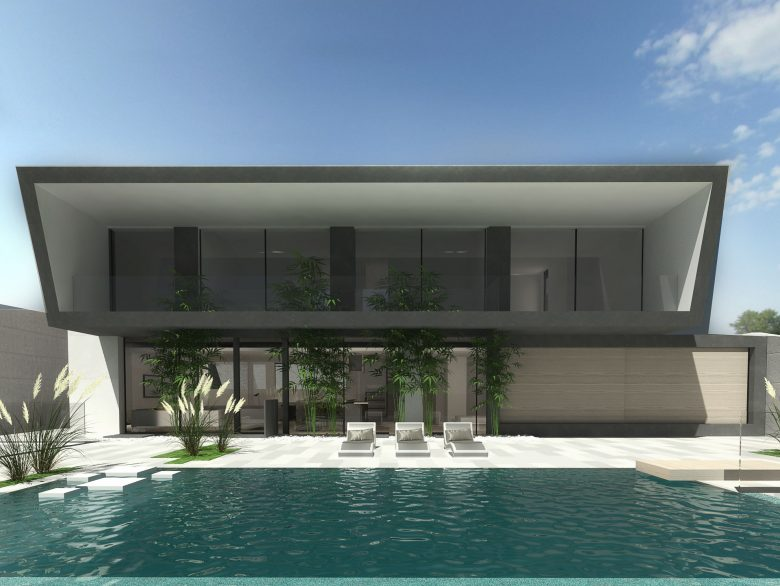 Proyecto de obra nueva de una vivienda unifamiliar en la urbanización can girona, sitges.