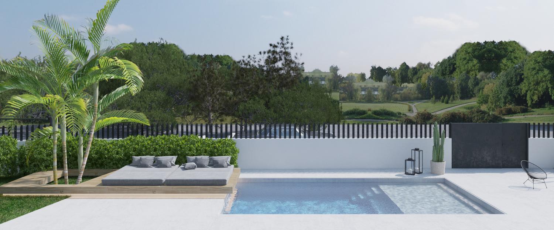 piscina peana tomar sol