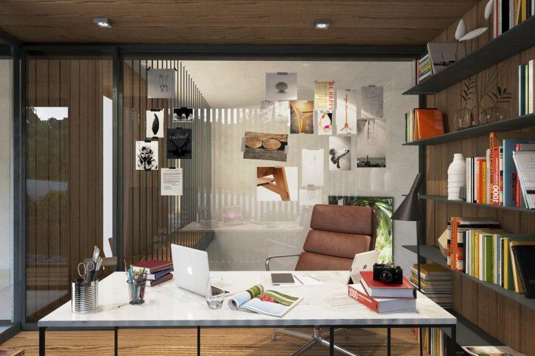 estudio vivienda abierto