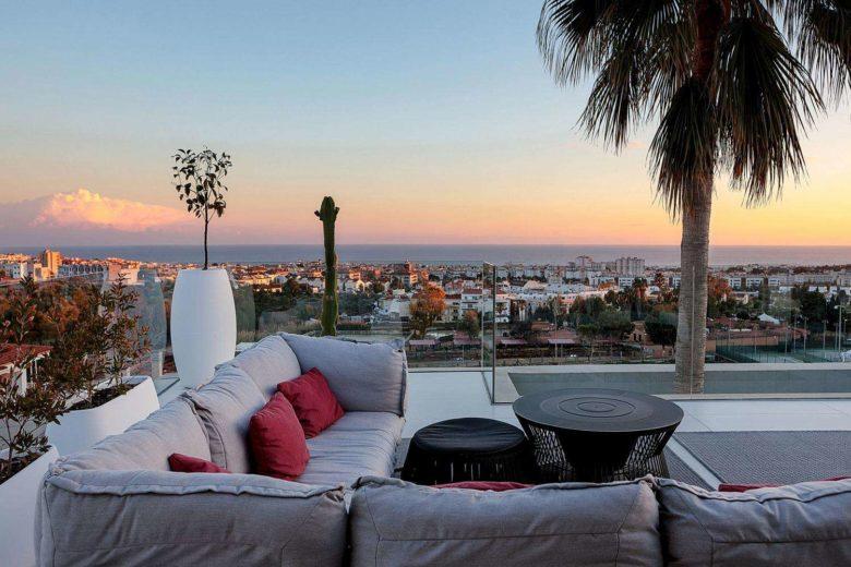 chill out con vistas mobiliario exterior Gandia Blasco