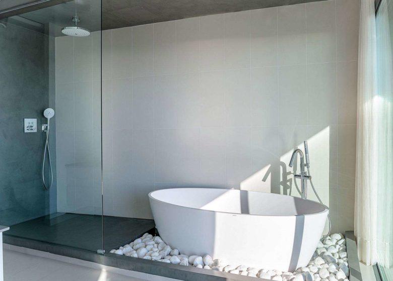 zona aguas baño suite